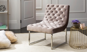 Safavieh Hadley Tufted Accent Chair at Safavieh Hadley Tufted Accent Chair, plus 6.0% Cash Back from Ebates.