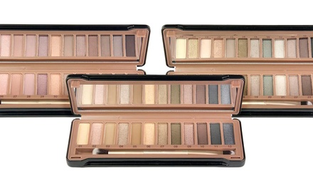 12-Color Exposed Eyeshadow Palette