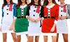 Robe tricotée oversize de Noël