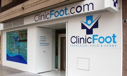 Estudio de la pisada con opción a quiropodia, masaje hidratante y plantillas personalizadas desde 19,90 € en Clinic Foot