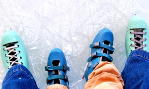 Silver Blades: Ice Rink Entry with Skate Hire for Up to Four to Silver Blades Ice Rink, Various Locations (Up to 36% Off)
