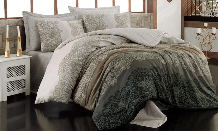 baumwoll bettw sche groupon goods. Black Bedroom Furniture Sets. Home Design Ideas