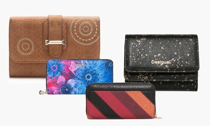 Desigual stylische Geldbörse für Damen im Design und in der Farbe nach Wahl