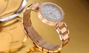 oferta: Reloj Timothy Stone para mujer adornado con cristales de Swarovski® por 29,90 € (80% de descuento)