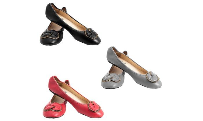 Women's Padded Flats