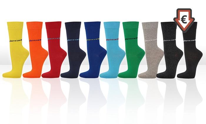 Groupon Goods Global GmbH: 12 Paar Pierre Cardin Herrensocken in der Farbe nach Wahl (89% sparen*)