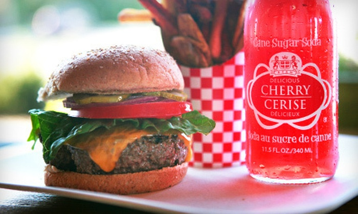 Jack's Shack - Glenwood Landing: $15 for $30 Worth of Burgers, Sandwiches, and Fries at Jack's Shack