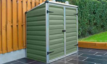 Storage solutions home garden storage groupon for Garden storage solutions