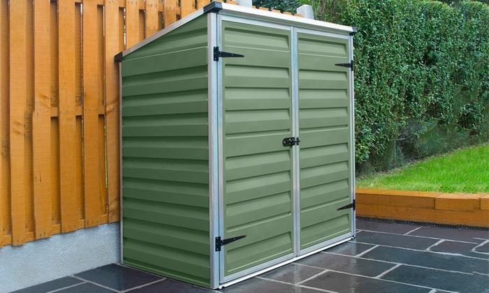 Mercia garden storage shed groupon goods for Best deals on garden sheds