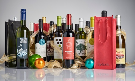 15-Bottle Curated Wine Packs with Holiday Bags (Up to 79% Off)