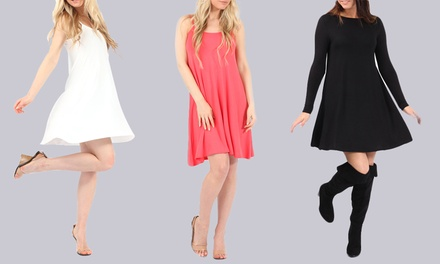 Women's Swing Jersey Dress for £6.98