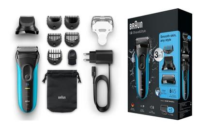 Braun Series 3 : rasoir électrique 3010BT