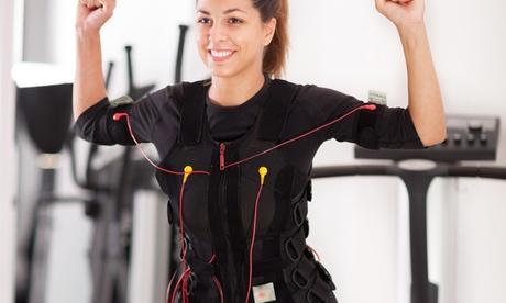 6, 9 o 12 sesiones de electroestimulación muscular con entrenador personal desde 69,95 € en Electrogym