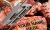 Personalized BBQ Branding Iron: Personalized BBQ Branding Iron
