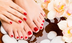 Beauty By Georgia: Gel Manicure or Pedicure or Both at Beauty By Georgia