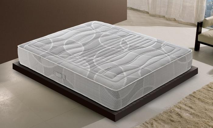 Groupon Goods Global GmbH: Materasso con 7 cm di memory e 11 zone made in Italy disponibile in varie dimensioni