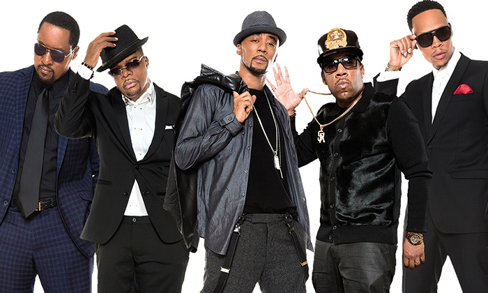 New Edition & Kenny 'Babyface' Edmonds on June 26 at 7:30 p.m.