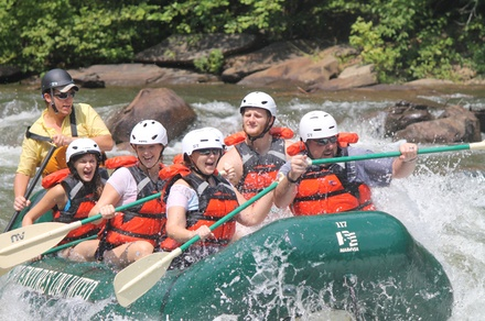 $29.95 for a Half-Day Ocoee River Adventure with Rental Gear from Adventures Unlimited ($59.95 Value)