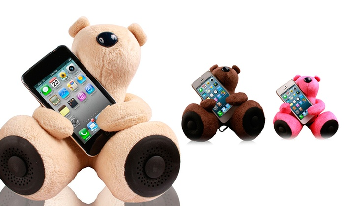 Jarv DJ-Bears Huggy Speaker with Amplifier: Jarv DJ-Bears Huggy Speakers with Amplifier. Multiple Colors Available. Free Shipping and Returns.