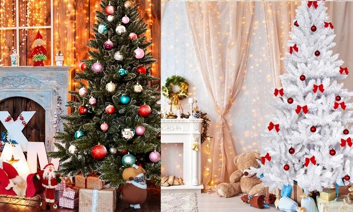 Premium Artificial Christmas Trees | Groupon