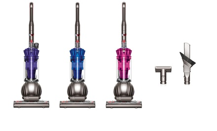 Dyson DC41 Multifloor Bagless Upright Vacuum (Refurbished) with Optional Turbine Tool from $249.99–$259.99