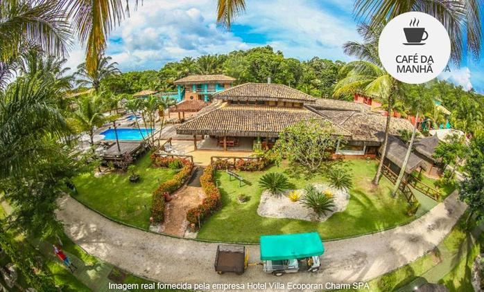 Itacaré/BA: 2, 3, 4, 5 ou 7 noites para 2 (opções em feriados) + café da manhã no Hotel Villa Ecoporan Charm SPA