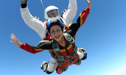 $185 for a Tandem Skydiving Jump with DVD Footage of the Dive at Illinois Skydiving Center ($300 Value)