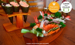 Hajime Sushi: Hajime Sushi – Tucuruvi:rodízio completo com sobremesa para 1 ou 2 pessoas