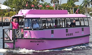 Water Shuttle: One or Five All-Day Fort Lauderdale Water Shuttle Passes (Up to 52% Off)