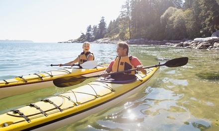 Kayak or Stand-Up Paddle Board Rental or Kayak Tour at Kayak Instruction (Up to 55% Off).