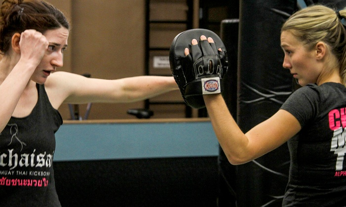 Alpha Martial Arts - Multiple Locations: One or Two Months of Muay Thai Kickboxing at Alpha Martial Arts (Up to 76% Off)