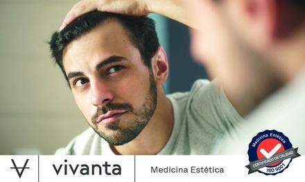 Paga 49 € por un dto. de 490 € en un trasplante capilar con técnica FUE (Unidades ilimitadas UF) en 77 Clínicas Vivanta