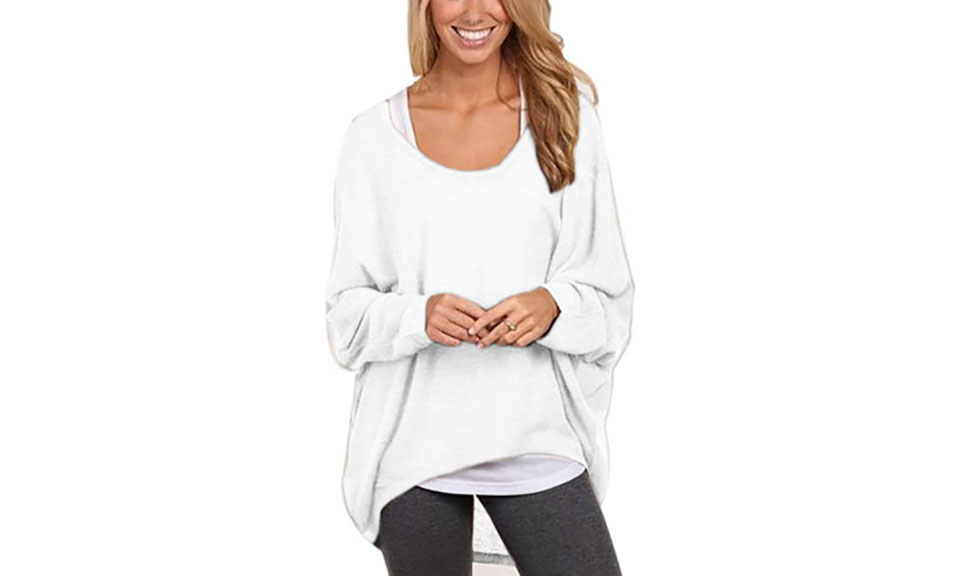 Basic Lightweight Oversize Knit Top From £6.98
