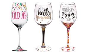 Printed Wine Glass (12 Oz.)