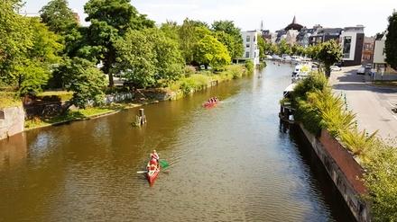Balade de 2h en canoë à Malines pour 2 personnes avec Urban Escape