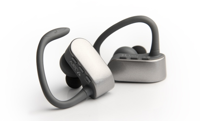 jarv nmotion free true wireless bluetooth sport stereo earbuds livingsocial. Black Bedroom Furniture Sets. Home Design Ideas