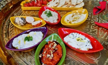 Arabische High Tea met keuze uit 6 mazzas bij Restaurant Topkapi vlakbij het Leidseplein