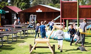 Happy Huts Playground and Party Venue: Bronze Party Package for 10 Kids from R567 at Happy Huts Playground and Party Venue (Up to 32% Off)