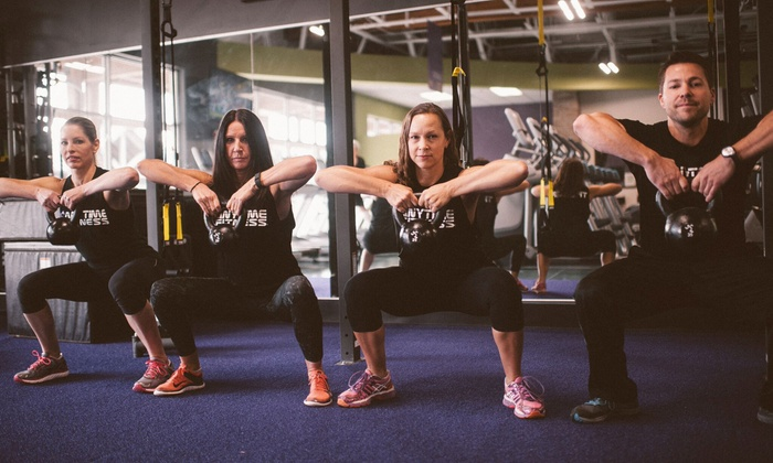 Anytime Fitness - Klahanie Village: Fitness Training Packages at Anytime Fitness (Up to 65% Off)