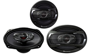 Pioneer A Series 4-way Car Speakers. Multiple Sizes And Wattages From $49.99–$64.99.