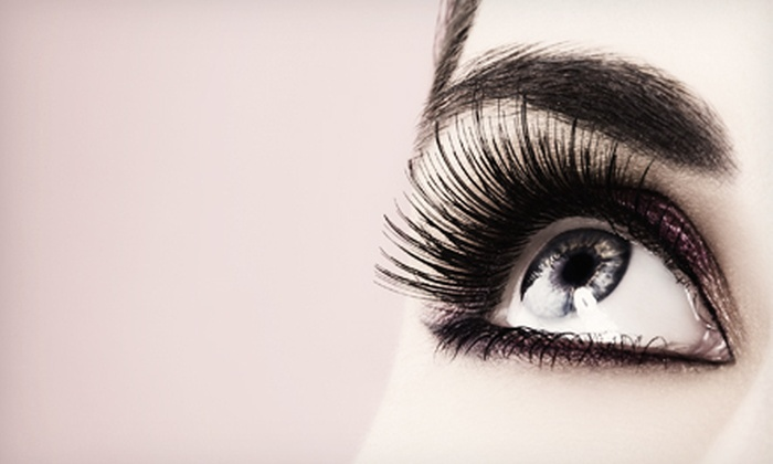 Innovations Day Spa - Luxury Lashes by Jessica within Innovations Salon & Day Spa: Black Velvet Semi-Permanent Mascara and Eyelash-Extension Packages at Innovations Day Spa (Up to 73% Off). Four Options Available.