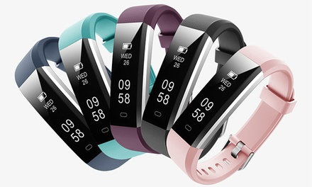 From $29 for an ID115U Touch Screen Fitness Tracker with Optional Heart Rate Monitor and Four Replacement Bands