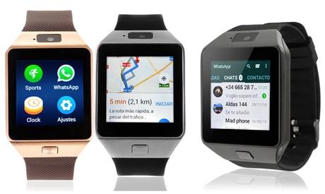Smartwatch Phone QW09 con sistema Android 4.4 disponibile in 3 colori