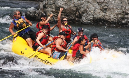 10.5-Mile Upper- or Lower-South-Fork Rafting Trip from Sierra Whitewater (Up to 46% Off)
