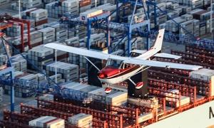 Grafprom Aviation: Lot widokowy samolotem dla 1 osoby od 149,99 zł i więcej z Grafprom Aviation w Porcie Lotniczym Bydgoszcz (do -39%)