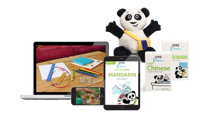 Little Pim: Kids' Language Learning Digital Discovery, Spanish, French, or Mandarin Set from Little Pim (Up to 46% Off)