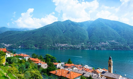 ✈ Lake Como: 2 to 4 Nights with Return Flights at Best Western Hotel Continental*