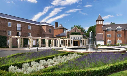 North Warwickshire: 1 or 2 Nights for Two with Breakfast, Dinner Credit and Leisure Access at 4* Belfry Hotel and Resort