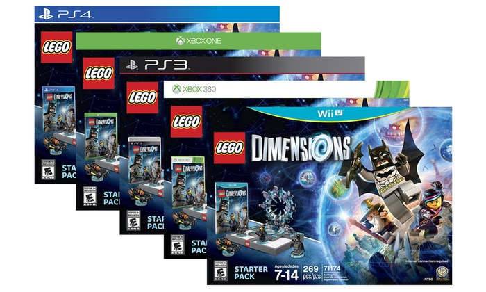 lego dimensions starter pack groupon goods. Black Bedroom Furniture Sets. Home Design Ideas