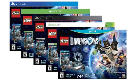 LEGO Dimensions Starter Pack for PS3, PS4, Wii U, Xbox One, or Xbox 360 562fad74-23fa-11e8-9816-52540562940f